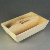 Wooden toolbox 37x25x9cm