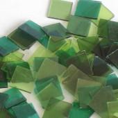Starter kit Crystal Mosaïque 15x15mm - 200g vert