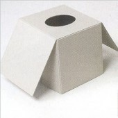 Boîte à mouchoirs en carton