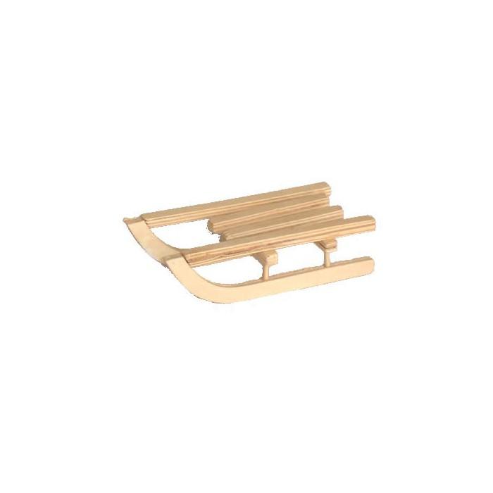 Wooden sled, 9cm