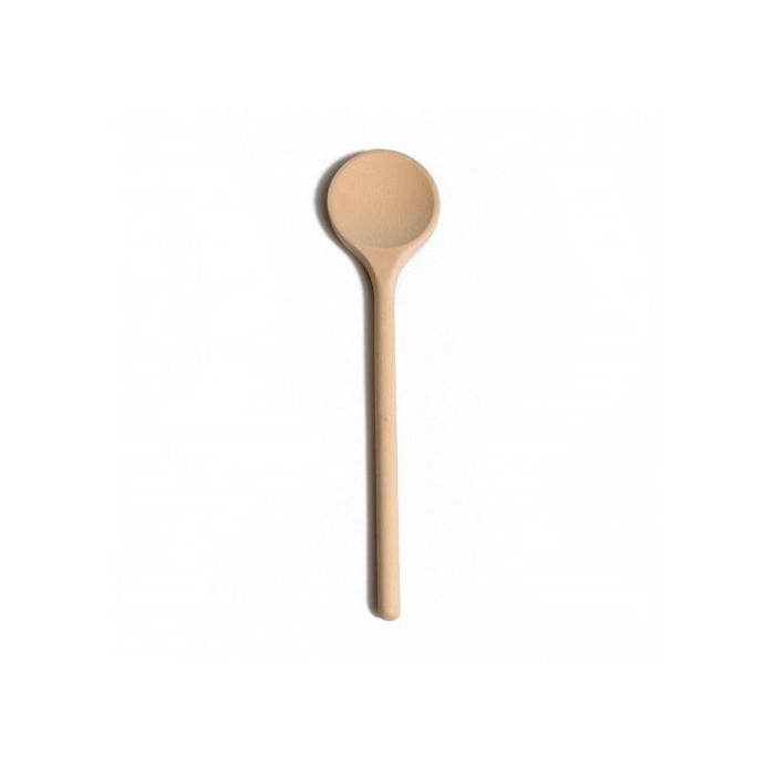 Wooden spoon round, 25cm