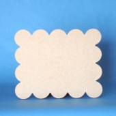 Support aggloméré petit beurre, 24x29cm