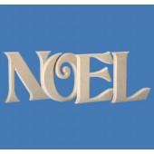 Lettres en bois NOEL hauteur 20cm