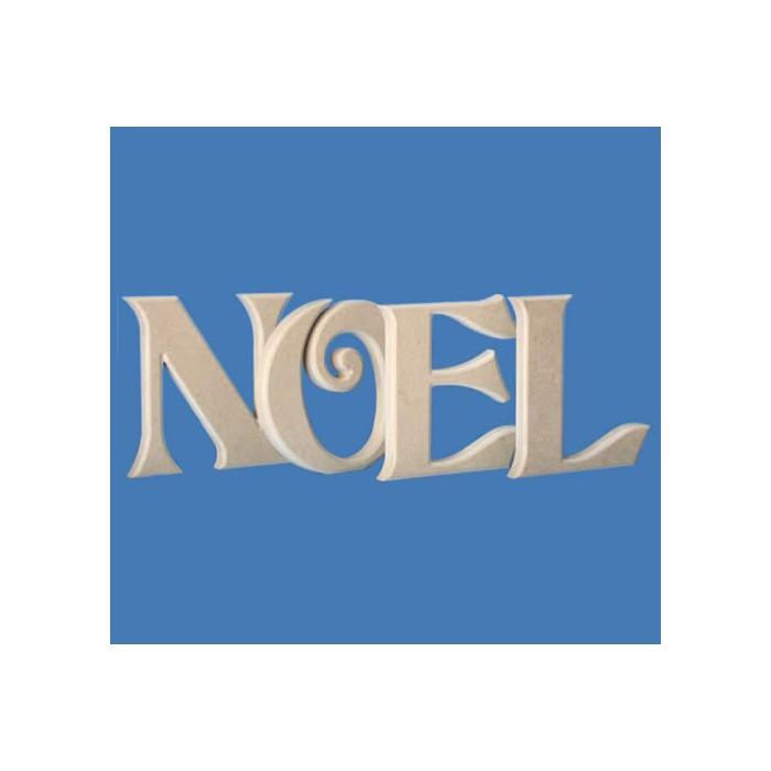 Wooden letters NOEL, 20cm each