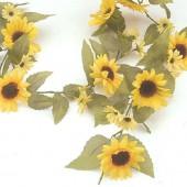 Sunflower garland 180cm