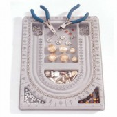 Plaque design pour perles 23x32cm