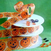 Decorative ribbon Halloween
