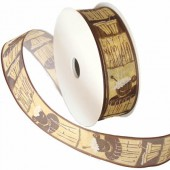 Ribbon Cappuccino 25mm/1m