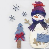 More than Memories - Embellishment Snowman