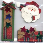 More than Memories - Embellishment Santa Claus