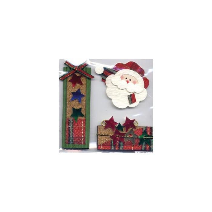 More than Memories - Embellishment Santa Claus