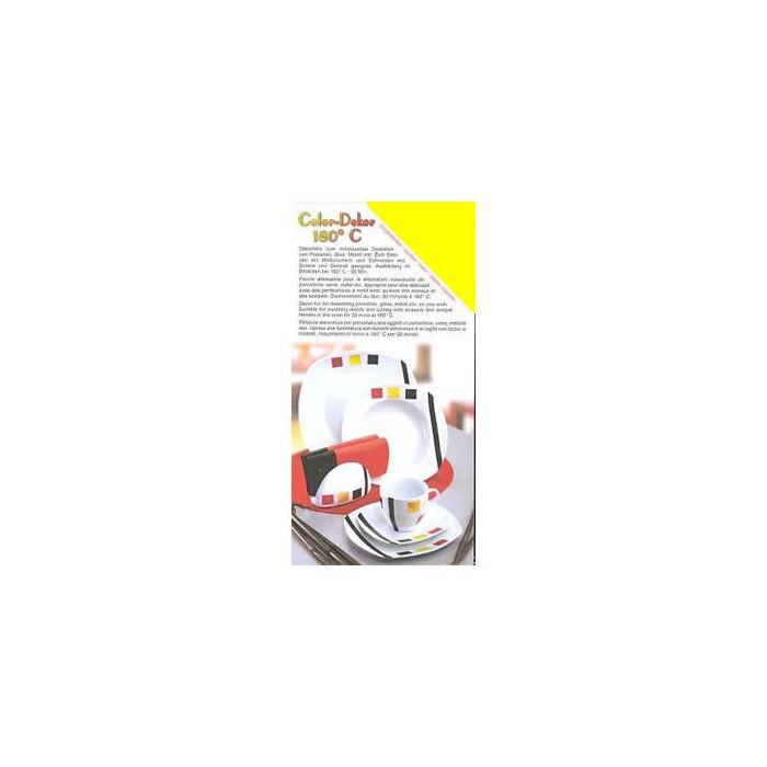Color-Dekor 180°, yellow