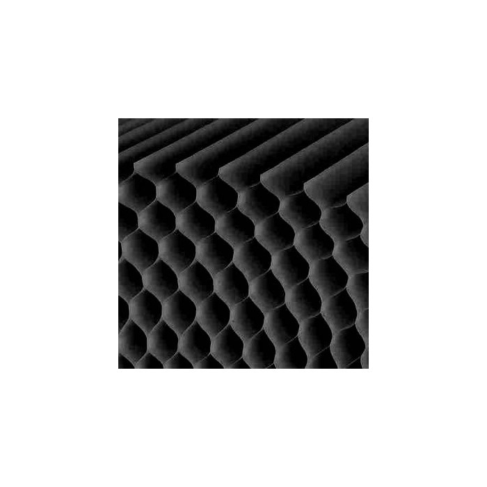Honeycomb paper, black, 26 glued layers, A4