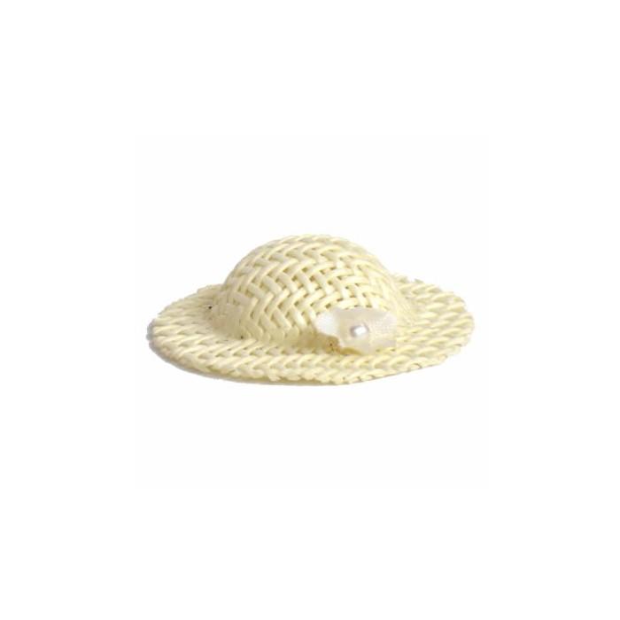 Decorative Wedding hat, 4cm, 12 pcs
