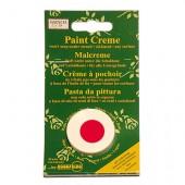 Crème pour peinture pochoir, rouge