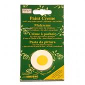 Crème pour peinture pochoir, jaune soleil