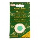 Crème pour peinture pochoir, vert menthe