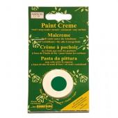 Crème pour peinture pochoir, vert océan