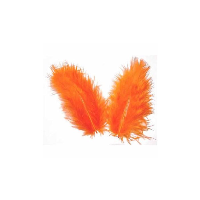 Orange Feathers, 5g