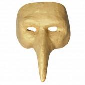 """Masque en papier mâché """"Venezia"""", 15x20cm"""