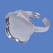 Ring base flower 1.8cm