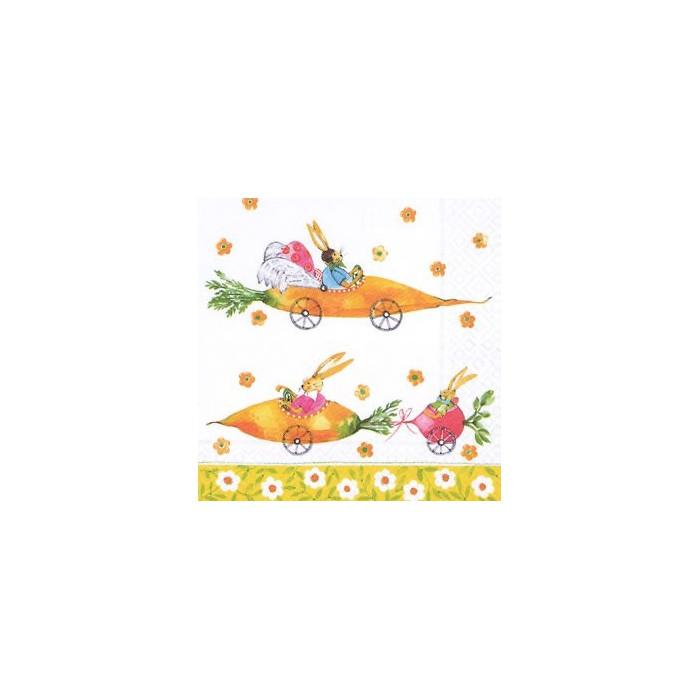 Napkin Bunny Race, 1 piece