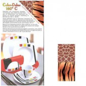 Color-Dekor 180°, Afrika tiger/giraffe