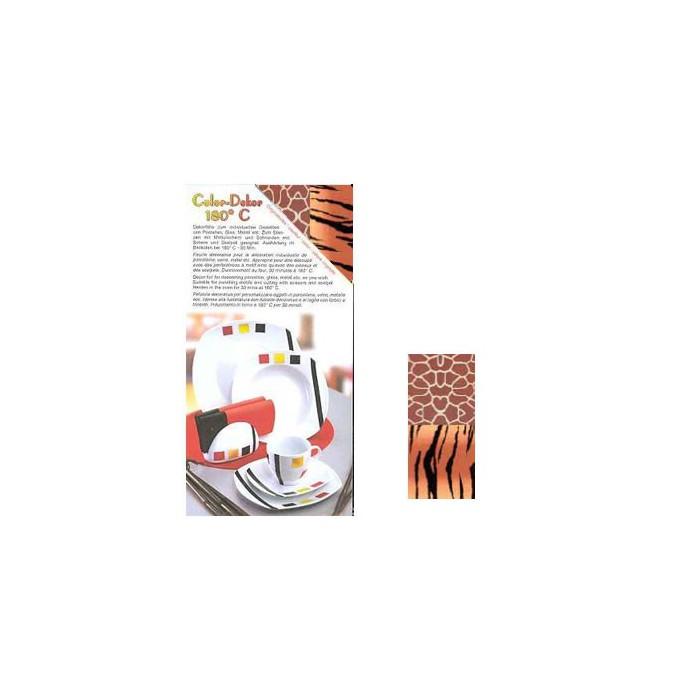 Color-Dekor 180°, Afrika tiger/giraffe
