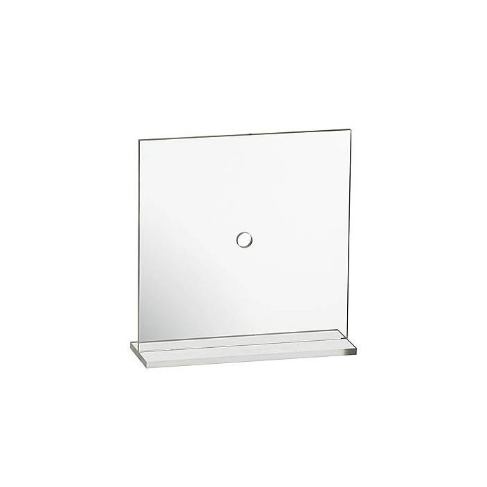 Clock blank square, acrylic, 200x205mm