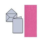 Set 7 cartes et enveloppes, pink