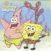 Napkin Sponge Bob, 1 piece