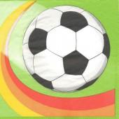 Serviette ballon de foot, 1 pièce
