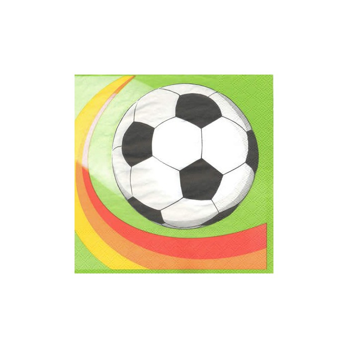Napkin football, 1 piece