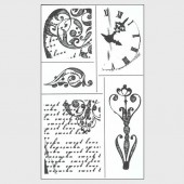 Clear stamps, Blumen Collection 2