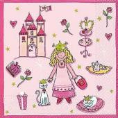 Serviette Princesse, 1 pièce