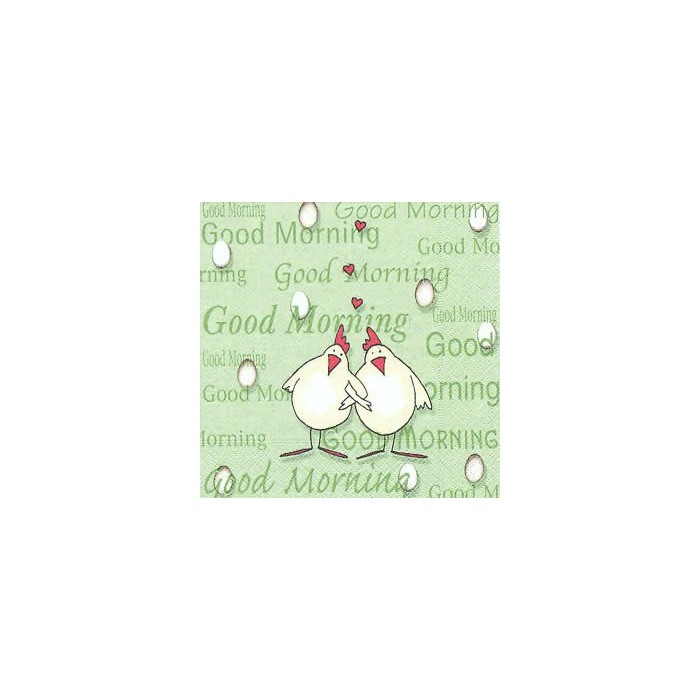 Napkin Good Morning, 1 piece