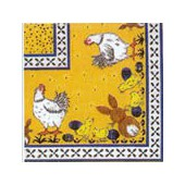 Napkin hens and rabbits, 1 piece