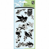 Clear stamps, Birds Galore
