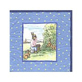 Napkin Albert the rabbit, 1 piece