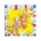 Napkin rabbit, 1 piece