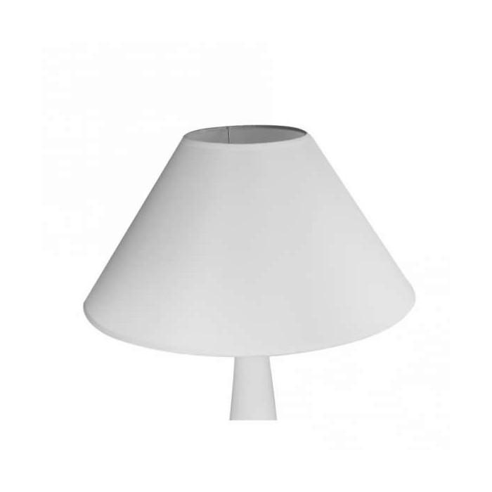 Lamp shade round, bottom Ø19.5cm, height 12.5cm, white