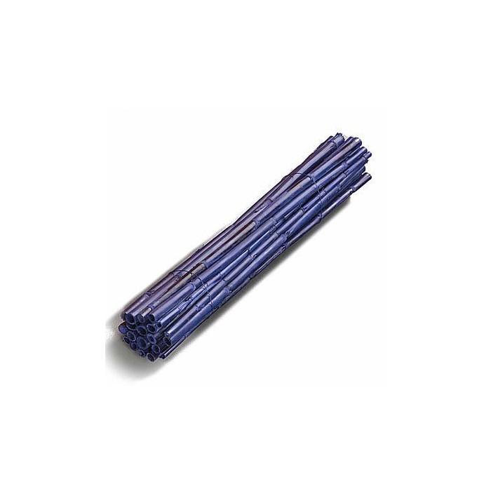 Wooden sticks, 40cm, blue, 5 pcs