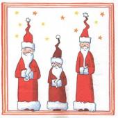 Napkin 3 Santa Claus, 1 piece