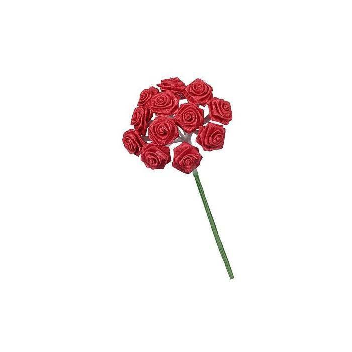 12 bouquets de 12 mini roses rouge. Black Bedroom Furniture Sets. Home Design Ideas