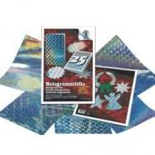 Assortiment de papier hologramme, 5 feuilles A4