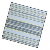 Serviette rayures bleues, 1 pièce