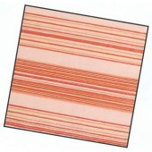 Napkin red stripes, 1 piece