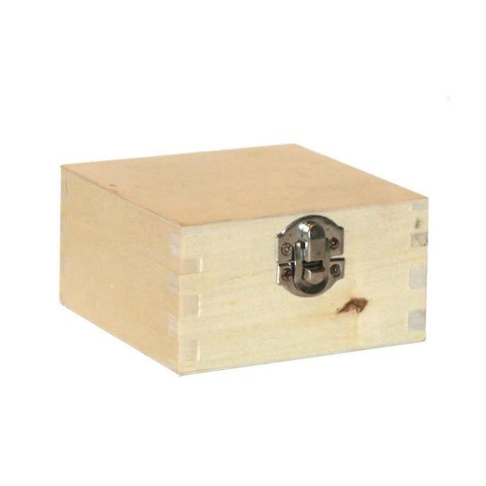 Mini Wooden box 100x100x55mm