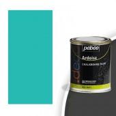 Peinture effet ardoise, couleur turquoise 250ml