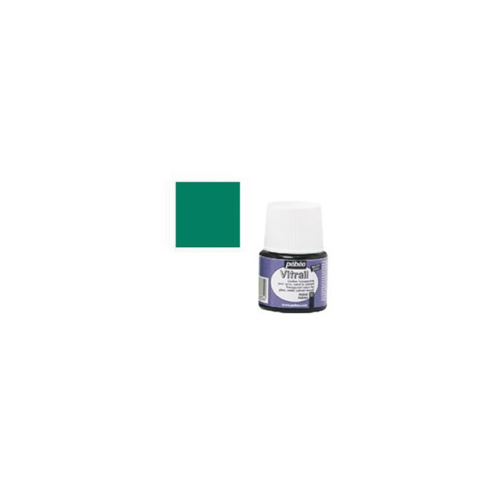 Pébéo Vitrail, bottle 45ml, esmerald